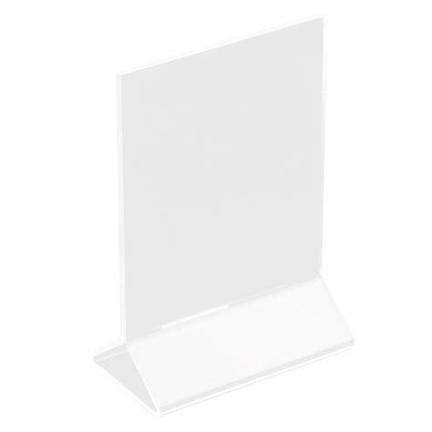 Acrylic Card Holder 4x6 Template by Update International Ach 46 Table Card Holder 4x6 Quot Clear
