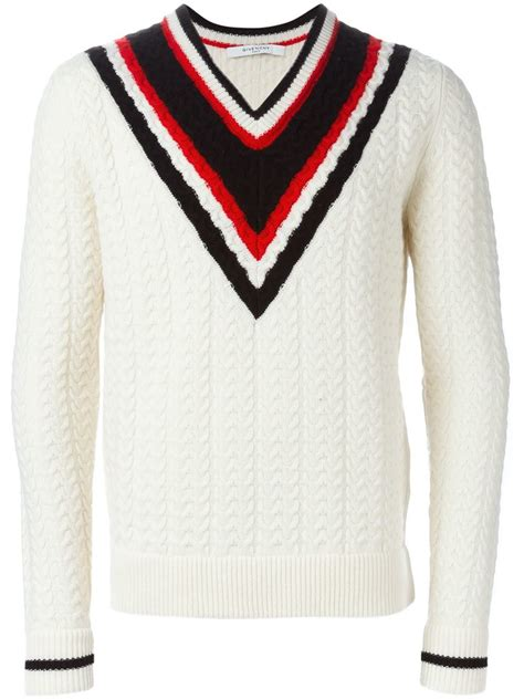 Snowy Sweater givenchy cricket style sweater in white for lyst
