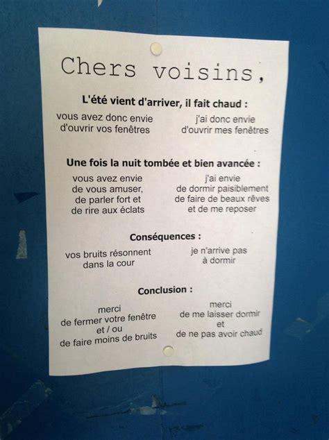 Exemple De Lettre Voisin Bruyant Top 19 Des Pires Messages Laiss 233 S Entre Voisins 4