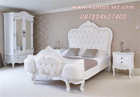 Tempat Tidur Elegan harga tempat tidur set putih set ranjang syahrini terbaru