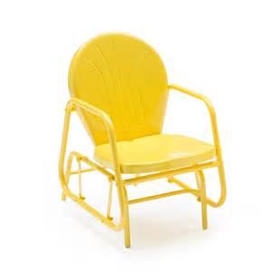 coral coast vintage retro outdoor glider chair ebay