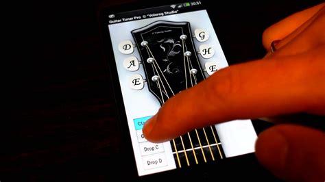 android guitar tuner настройка гитары тюнер приложение android guitar tuner pro