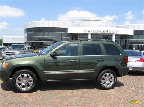 green jeep grand cherokee 2008 jeep green metallic jeep grand cherokee limited