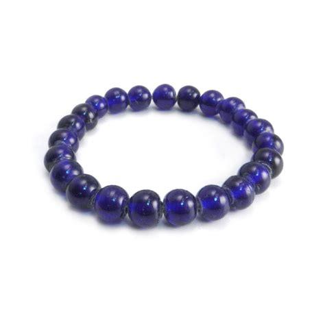 the glass bead audiobook glass bead bracelet blue amigaz touch of modern