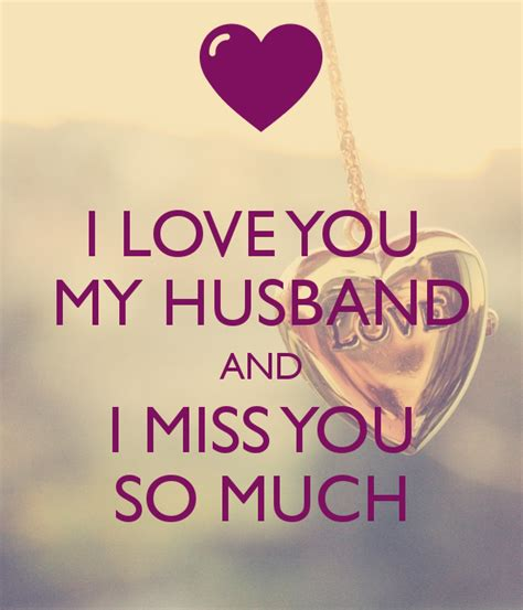 I You So i you my husband and i miss you so much poster