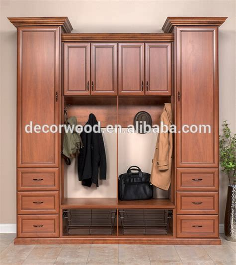 Plywood Wardrobe Design Solid Wooden Fitting Walk In