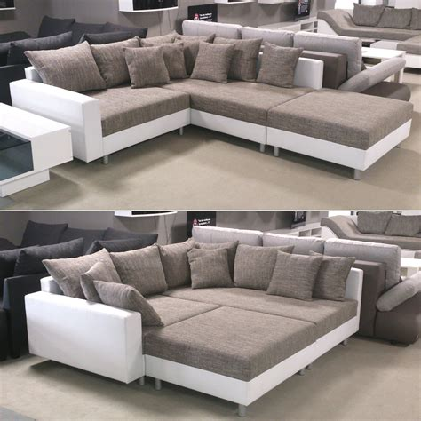 ottomane sofa wohnlandschaft ecksofa sofa mit ottomane
