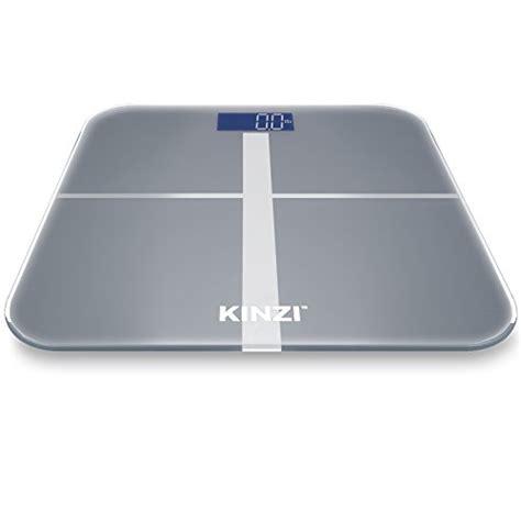 Large Display Digital Bathroom Scales Kinzi Precision Digital Bathroom Scale W Large Lighted Display 400 Lb Capacity And