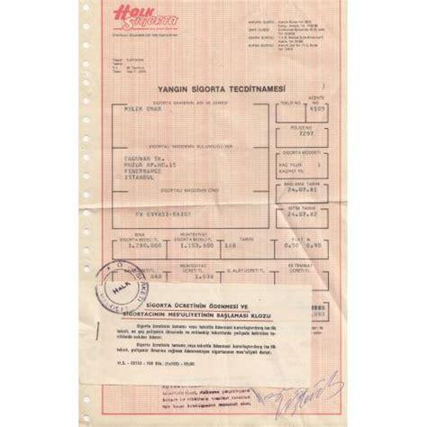 halk sigorta police belgesi fiyati ve oezellikleri