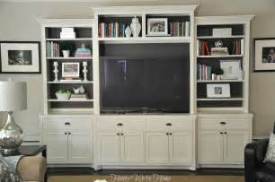 Media Center With Bookshelves Painted Media Cabinet Bookshelf Styling Home Design