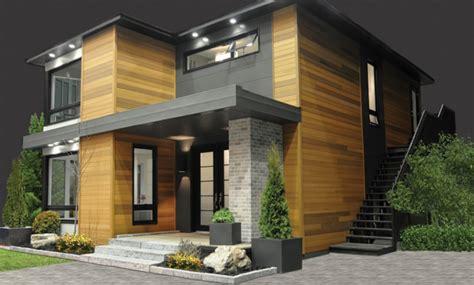 imagenes de casas minimalistas de dos pisos fachadas exteriores de casas de doble entrada fachadas