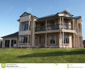 how is a 2 story house big 2 storey house royalty free stock photo image