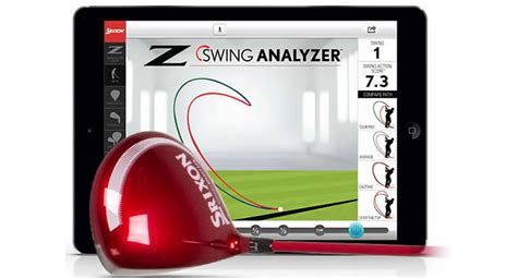 swing analyser srixon z swing analyser gives you your swing action score
