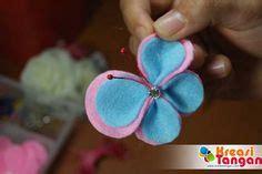 cara membuat bros sandra tutorial membuat flowerhand dari kain flanel kain flanel
