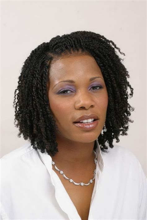 kinky twist hairstyles for black women short kinky twist braid hairstyles short hairstyle 2013