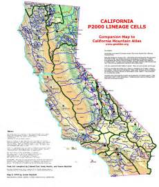 southern california mountain ranges map mountain ranges of southern california