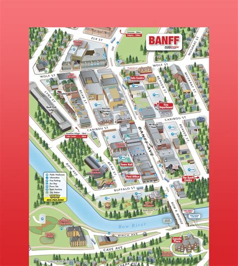 Map Of Banff Canada by Ski Holidays At Banff Ski Resort Canada Ski Canada