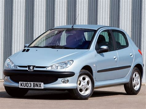 peugeot two door car peugeot 206 5 doors specs 2002 2003 2004 2005 2006