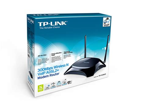 Router Voip 300mbps wireless n voip adsl2 modem router td vg3631