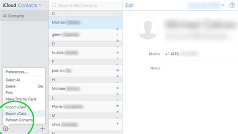 icloud contacts to android how to transfer contacts from iphone to android 5 ways ubergizmo