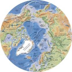 Map Of The World North Pole by North Pole World Map Viewing Gallery