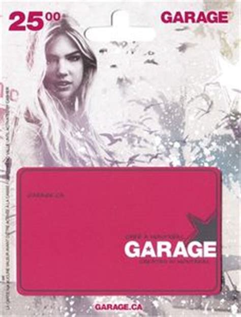 Garage Gift Card - gift card garage created in montreal garage canada