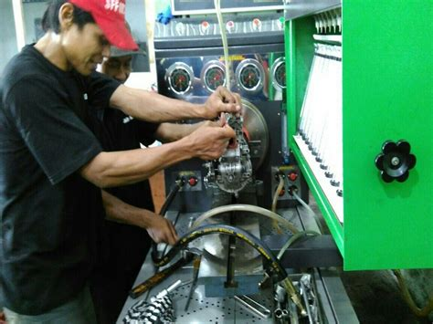 Alat Tes Nozzle abadi diesel bengkel bospom semarang terima test