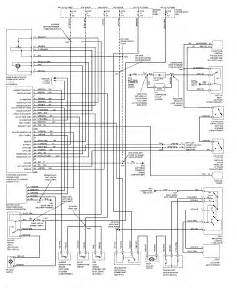 1997 ford explorer air conditioning system circuit and schematics diagram