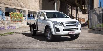 Isuzu Dmax 4x2 Review 2017 Isuzu D Max Sx 4x2 Single Cab Chassis Review Caradvice