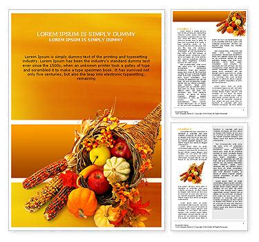 microsoft templates for thanksgiving flyers thanksgiving word template design id 0000000721