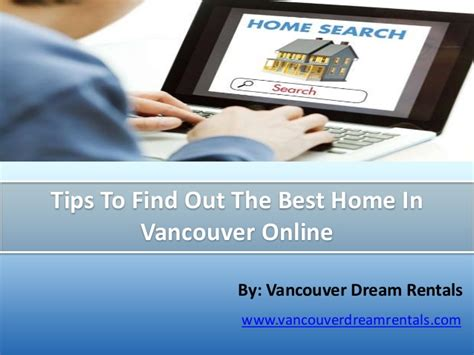 tips to find out the best home in vancouver