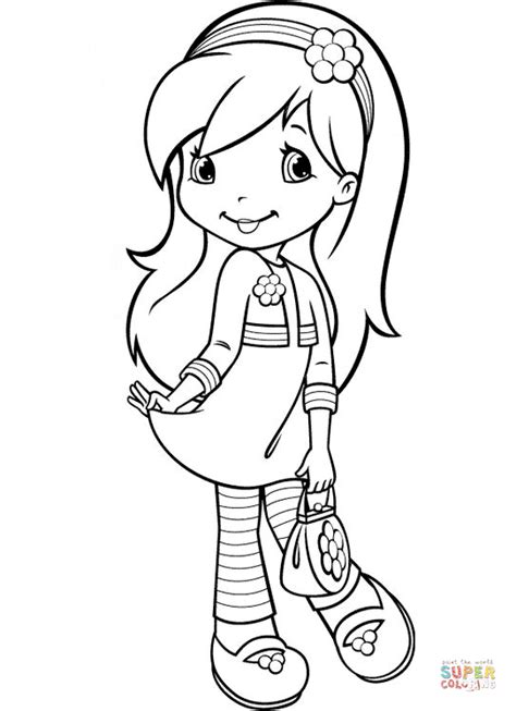 three raspberries coloring page free printable coloring raspberry torte from strawberry shortcake super coloring