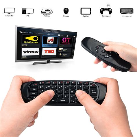Sealed New C120 2 4g Air Mouse Wireless Keyboard Remote For An c120 2 4ghz wireless fly air mouse remote controller keyboard for android tv box ebay