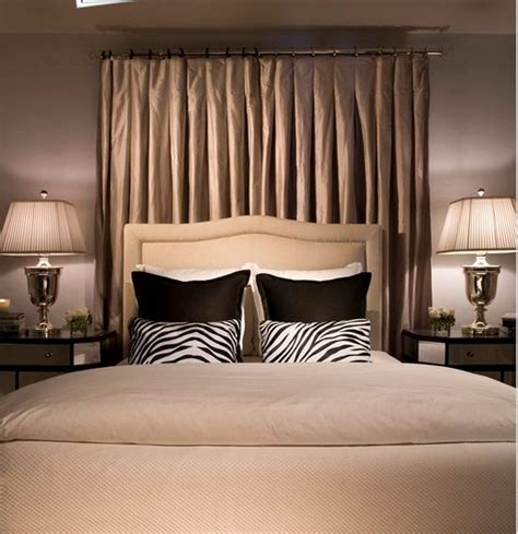 curtain headboard ideas 17 best ideas about curtain headboards on pinterest diy
