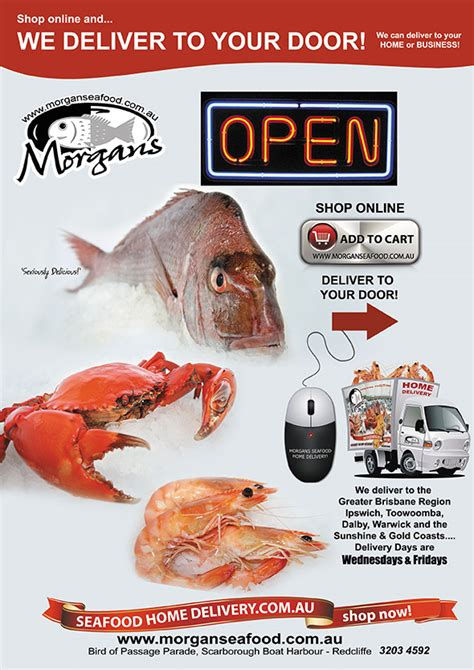 morgans seafood menu seafood home delivery now open morgans seafood