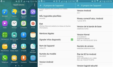 android samsung android 6 0 1 marshmallow for the galaxy s5 sent out by