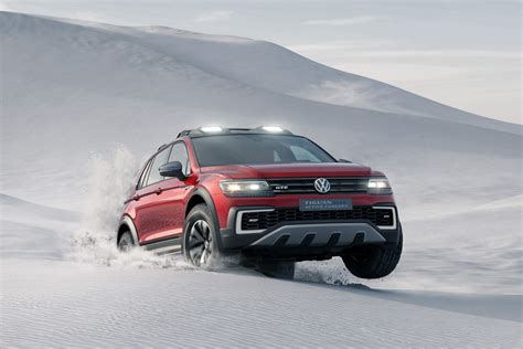 Rugged Car by Rugged Vw Tiguan Gte Active Concept Revealed Cars Co Za
