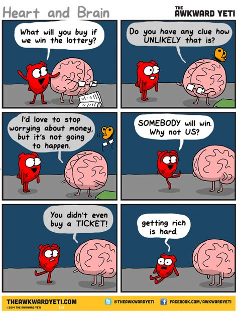 and brain an awkward yeti collection the lottery