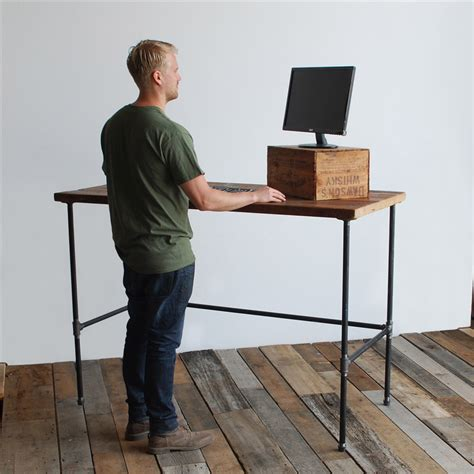wood standing desk wood standing desk 28 images standing desk industrial