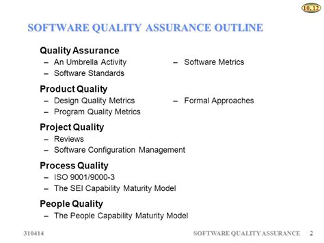 design guidelines for quality assurance software quality assurance ppt download