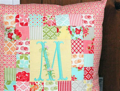 Patchwork Pillow Pattern - patchwork pillow pattern and tutorial the cottage