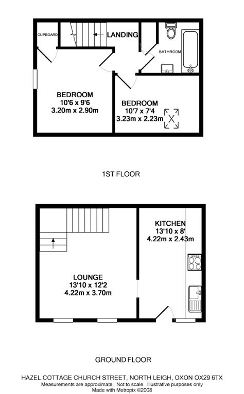 two bedroom house plans for small land two bedroom house church road north leigh ox29 ref 15572 witney