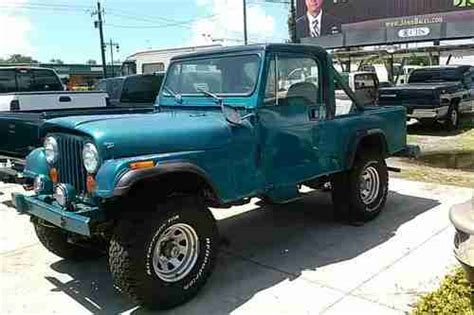 vintage jeep scrambler buy used jeep scrambler cj8 motors 4x4 4 wheel