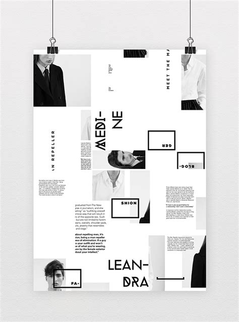 poster layout behance informative poster system on behance