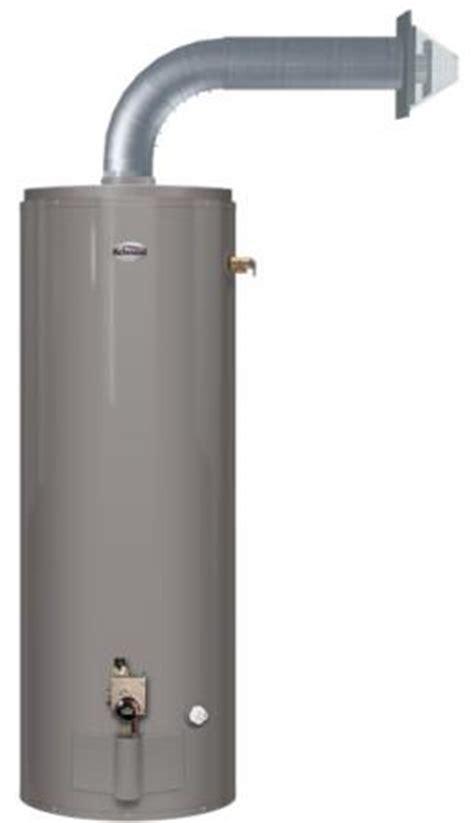 richmond self cleaning water heater richmond gas water heaters