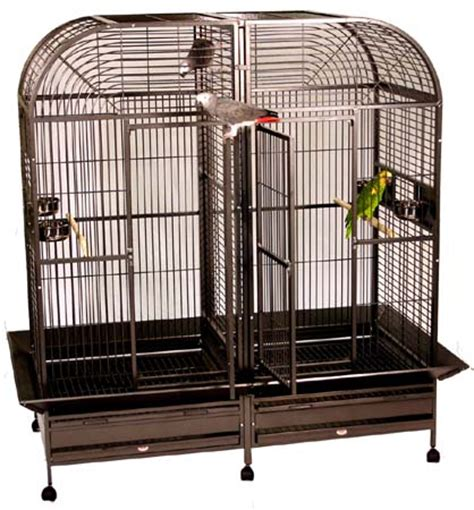 cage with divider space saver bird cages large bird cages and stacked bird cages for sale