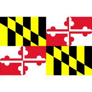 maryland colors maryland state flag 3x5 target