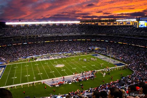where is san diego chargers stadium photograstig session at qualcomm stadium with chargers