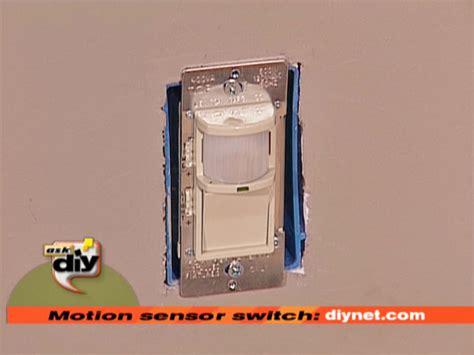 how to install a motion sensor light switch how tos diy