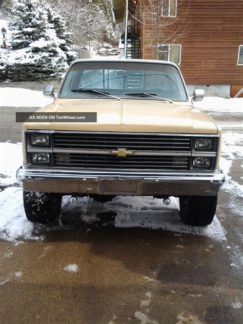 1983 3 4 ton 4wd chevy silverado